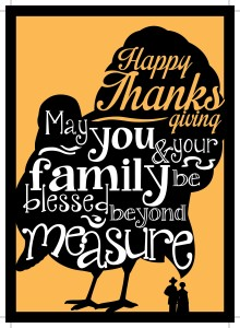 May you and your family be blessed beyond measure!