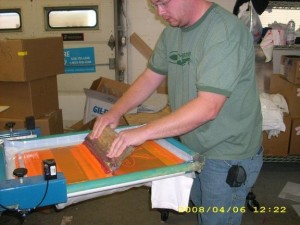 Screen Printer John